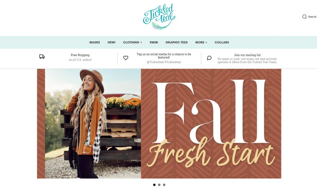 Tickled Teal Coupons & Reviews
